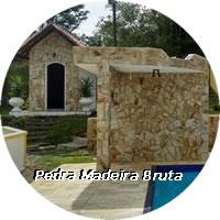 Pedra Madeira Bruta