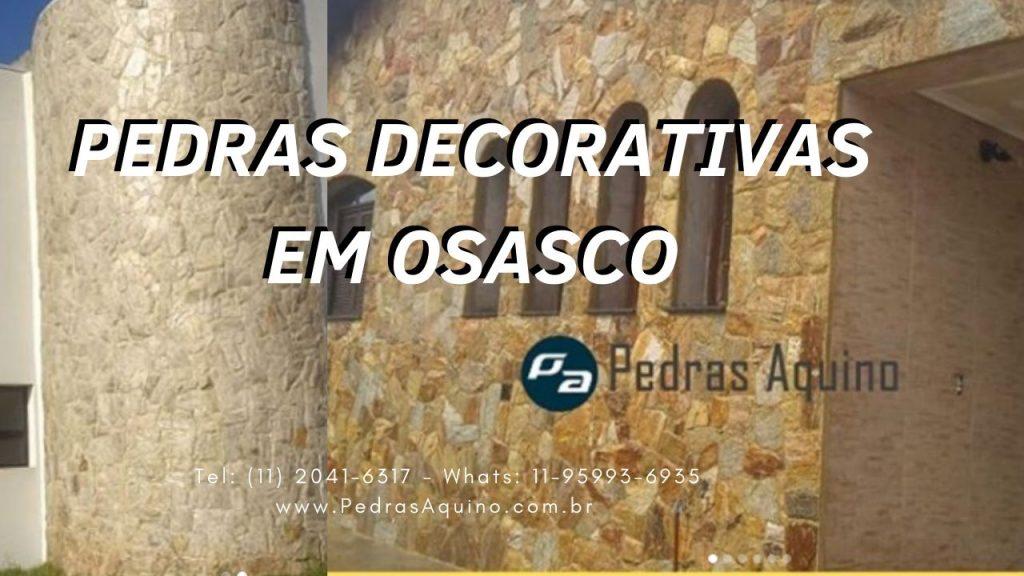 Pedras decorativas em Osasco - Pedras Aquino